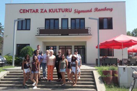 """Studenti iz 6 zemalja obišli Belišće u sklopu projekta """"Discover Slavonia and Baranya"""""""